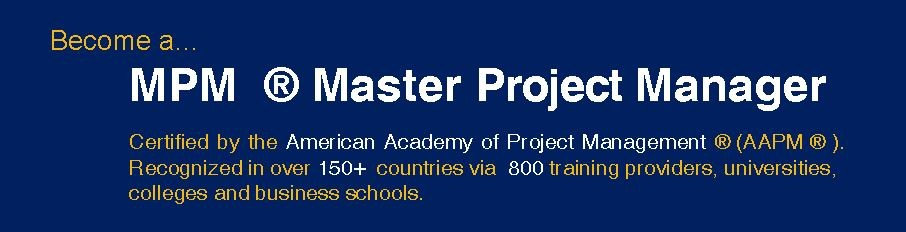 04. Master Project Manager (MPM)